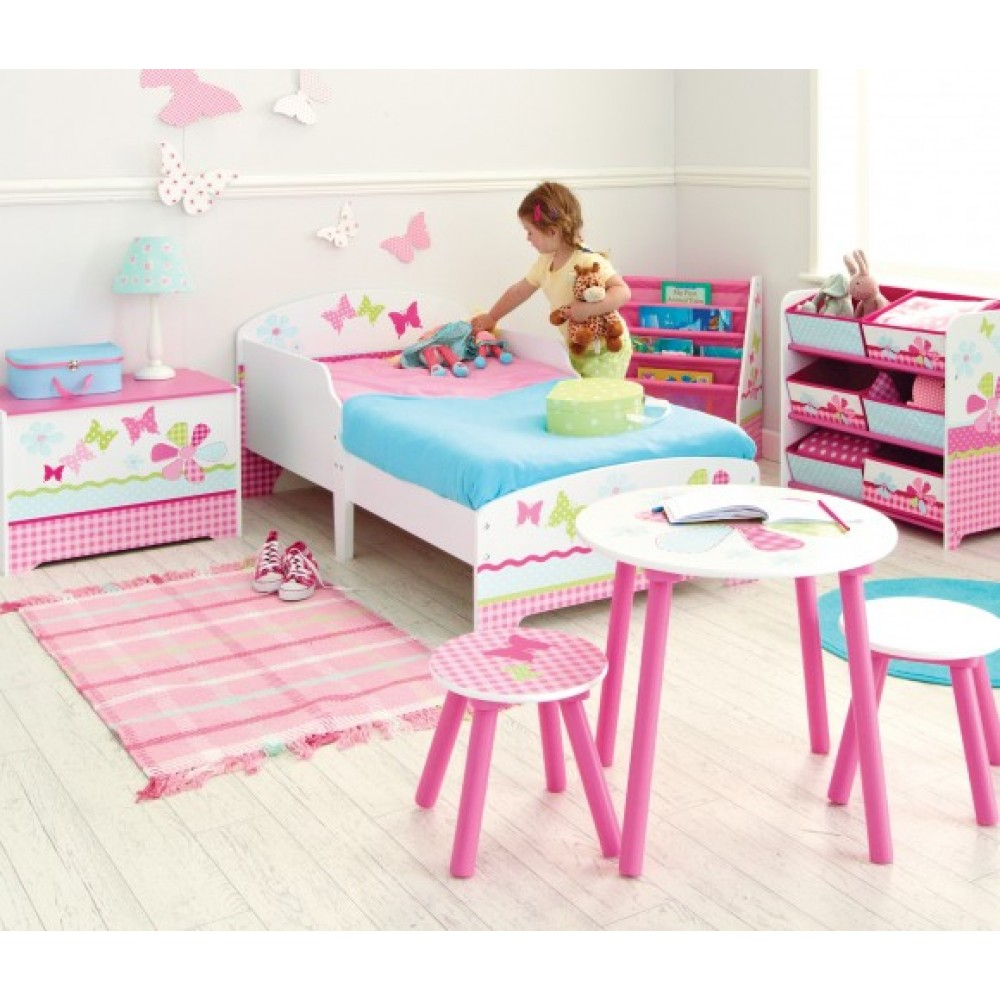 butterfly toddler 3 bedroom set