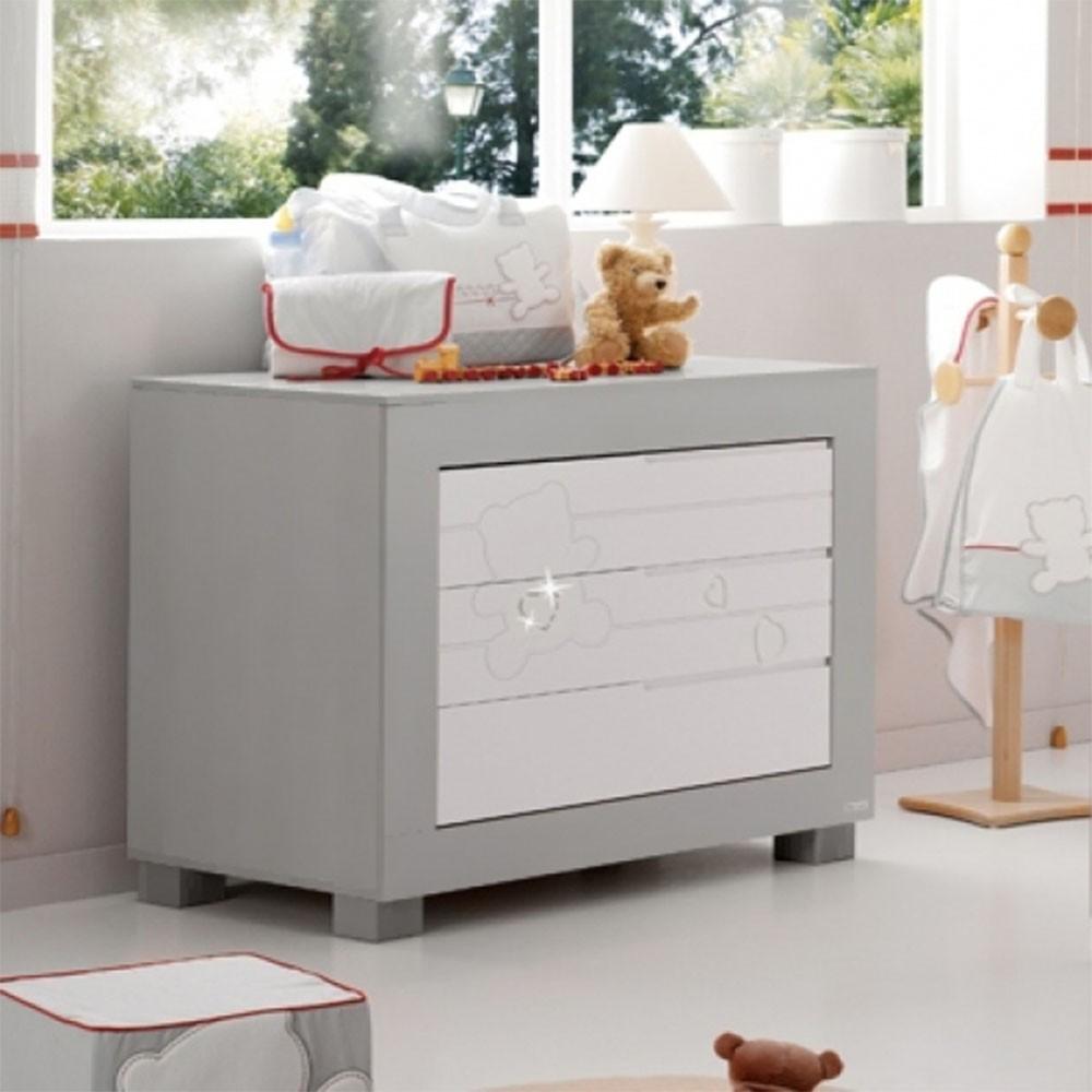 Buy Lapsi Neus Chest Of Drawers Grey Nursery Furniture Store
