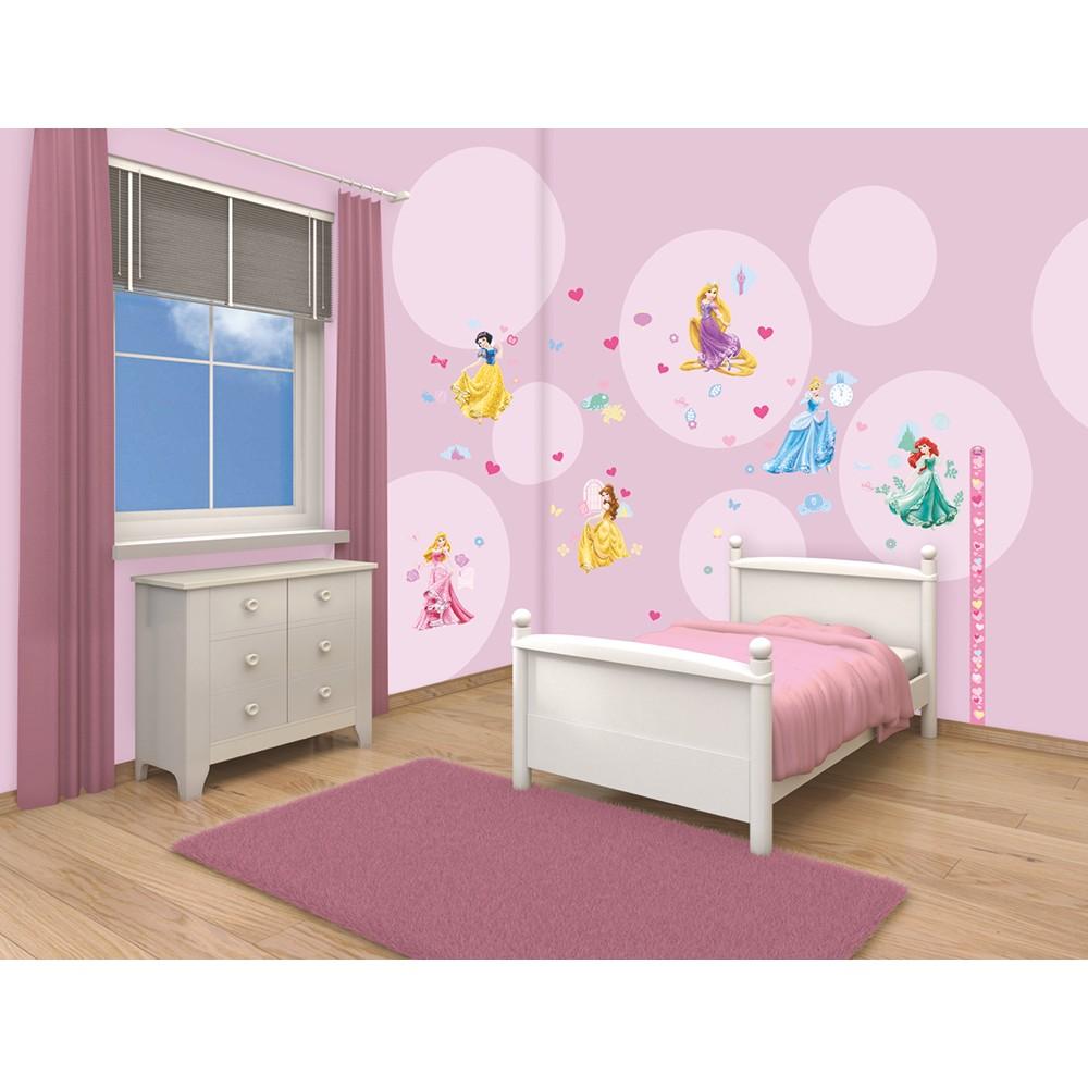 Walltastic disney princess room decor stickers for Princes room decoration