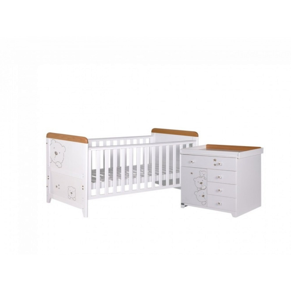 Buy Tutti Bambini 3 Bears 2 Piece Set | Nursery Furniture ...