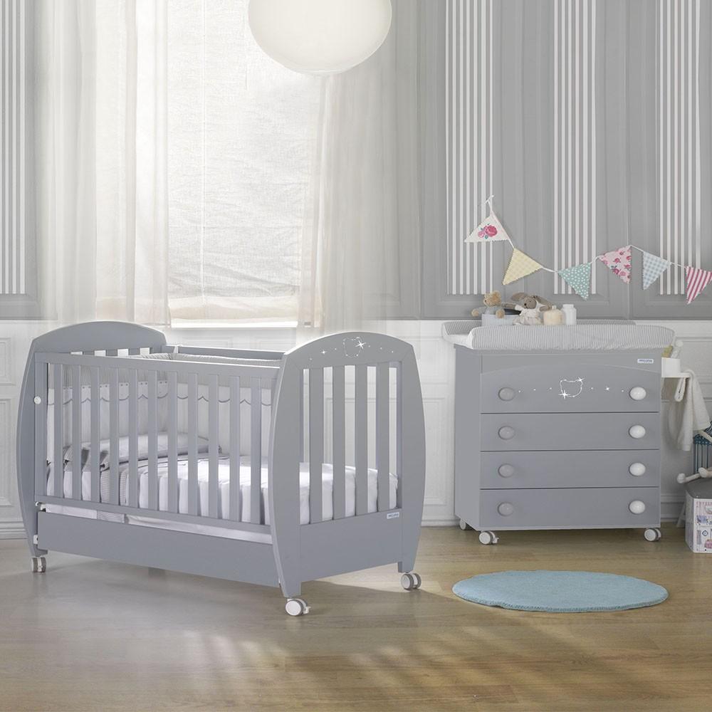 Buy Lapsi Valeria Cot Bed Grey Nursery Furniture Store