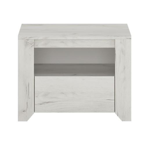 Starlight 1 Drawer Bedside Cabinet