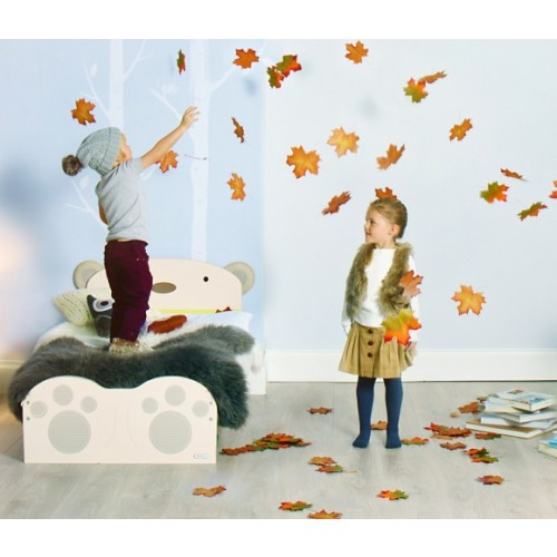 BabyBear 3 Piece Toddler Room Set - Cream
