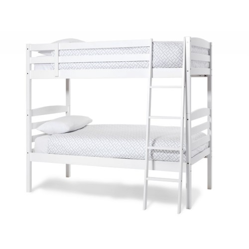 Brooke Bunk Bed Opal White Wooden