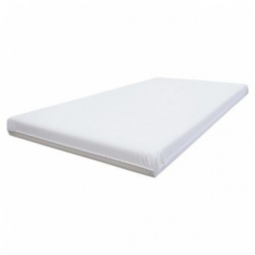 East Coast Foam Cot Bed Mattress with Wipe Clean Cover - 60 x 120cm