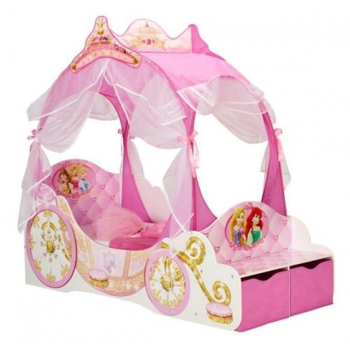 Disney Princess Carriage Toddler Canopy Bed