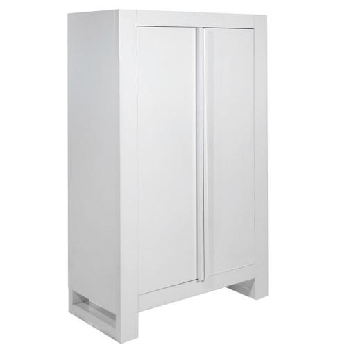 Tutti Bambini Rimini Wardrobe - High Gloss White