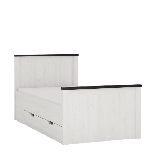 Sherwood Single Bed with Storage Drawers