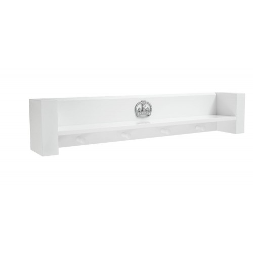 Tutti Bambini Sovereign Shelf - High Gloss White