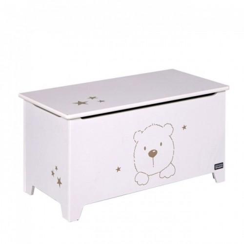 Tutti Bambini Bears Toy Box - White
