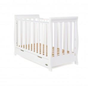 Obaby Stamford Mini Cot Bed - White