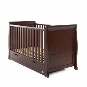 Obaby Stamford Cot Bed - Walnut