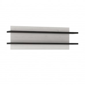 Sherwood 125cm Wide Wall Shelf (2 Shelves)