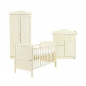 Tutti Bambini 3 Piece Alexia Room Set - Vanilla