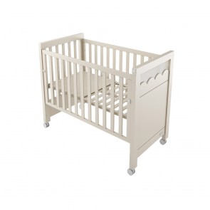 Lapsi Amelia Aran Cot Bed With Swarovski Crystals - Sand