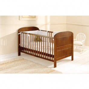 East Coast Angelina Cot Bed - Cocoa