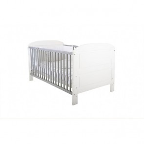East Coast Angelina Cot Bed - White/Grey