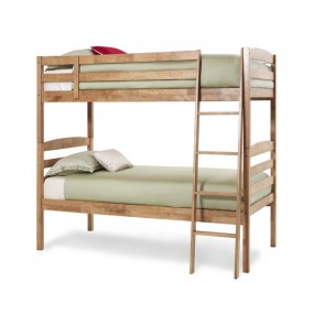 Brooke Bunk Bed  Honey Oak Wooden