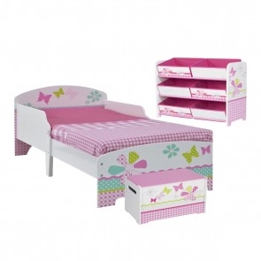 Butterfly Toddler 3 Piece Bedroom Set