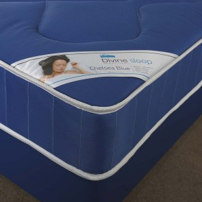 Chelsea Single Mattress in Blue 3ft