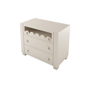 Lapsi Amelia Aran Chest of Drawers With Swarovski Crystals - Sand