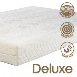 Concept Deluxe 2000 Single Memory Foam Mattress Medium to Firm