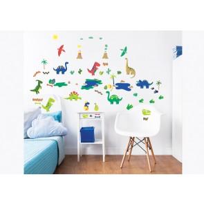 Walltastic Dinosaur Childrens Room Decor Stickers