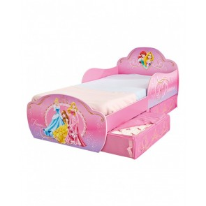 Disney Princess Toddler Bed with Under Bed Storage