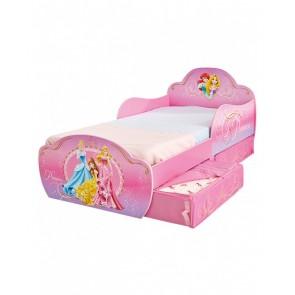 Disney Princess Toddler Bed with Under Bed Storage