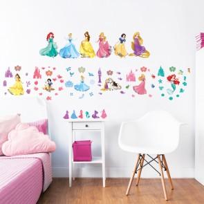 Walltastic Disney Princess Childrens Room Decor Stickers