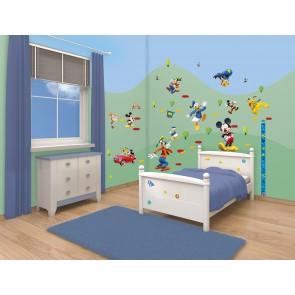 Walltastic Disney Mickey Mouse Room Decor Stickers