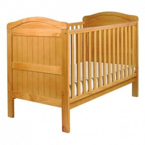 East Coast Country Cot Bed - Antique Pine