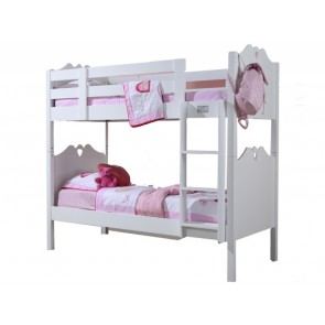 Holly White Wooden Bunk Bed