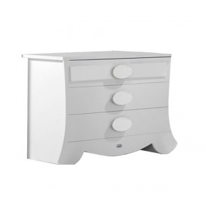 Lapsi Alexa Chest Of Drawers - White