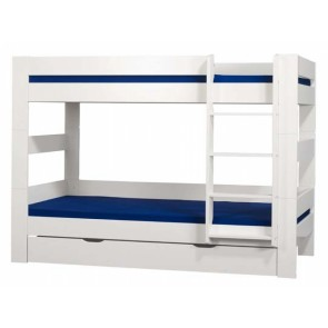 London White Bunk Bed With Optional Under Bed Drawer