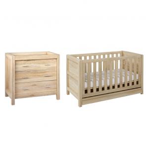 Tutti Bambini Milan 2 Piece Room Set - Reclaimed Oak