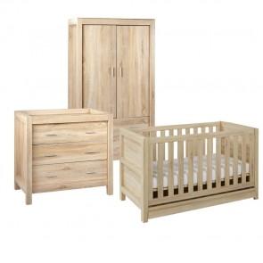 Tutti Bambini Milan 3 Piece Room Set - Reclaimed Oak