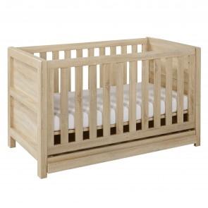 Tutti Bambini Milan Cot Bed - Reclaimed Oak
