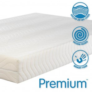 Concept Premium 2000 Single Memory Foam Mattress Medium Firmness