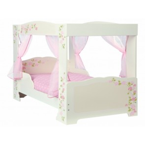 Princess 4 Poster Single Toddler Bed