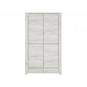 Starlight Kids Wardrobe 2 Door 2 Drawer
