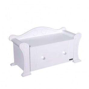 Tutti Bambini Marie Toy Box - White