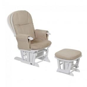 Tutti Bambini GC35 Reclining Glider Chair - White