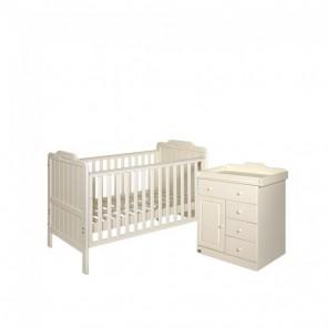 Tutti Bambini 2 Piece Alexia Room Set - Vanilla